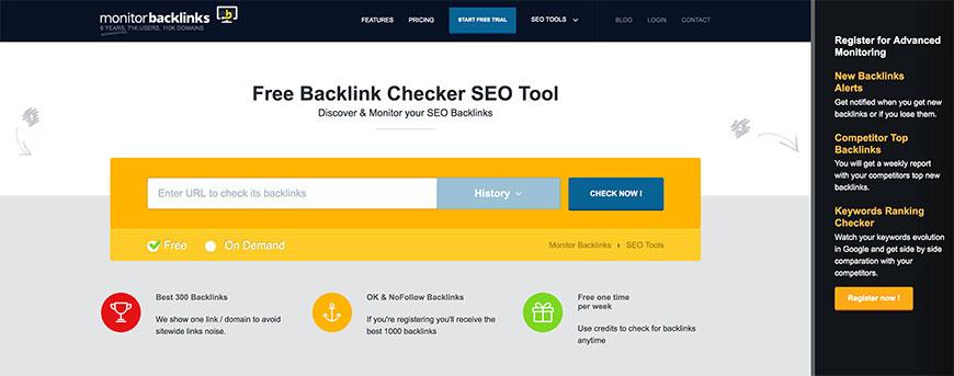 surveiller les backlinks