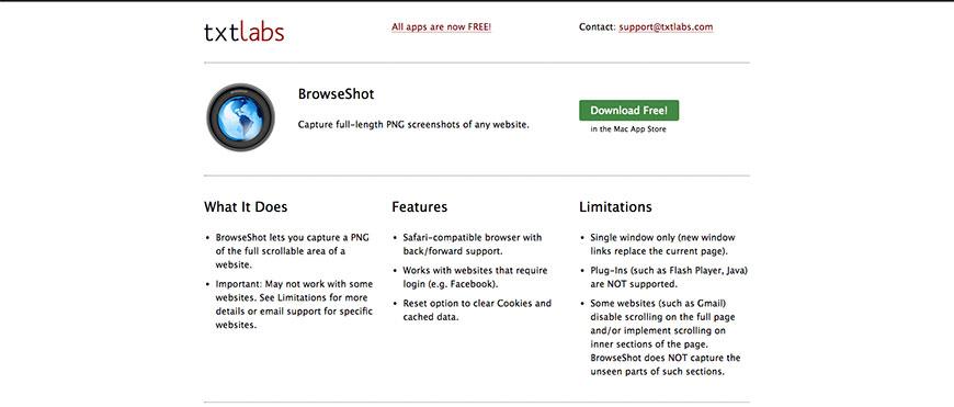 best free screenshot tool for mac