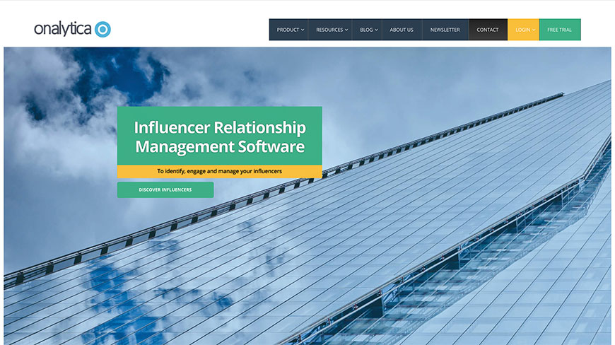 16 onalyttica influencer tools