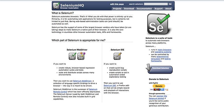 18 SeleniumHQ