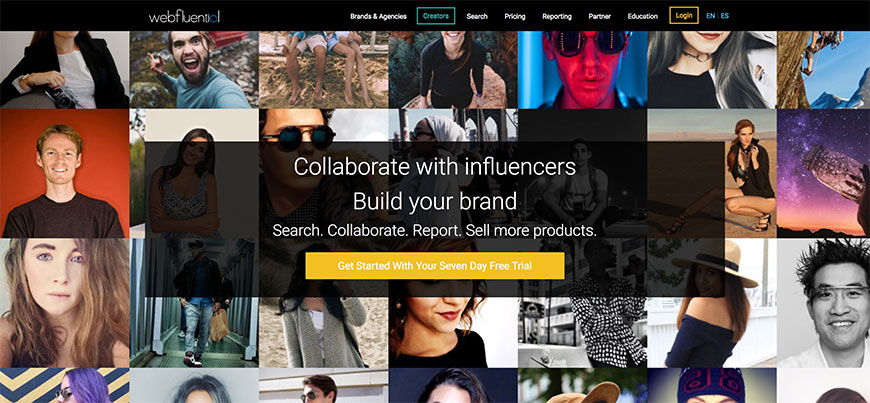 20 webfluential influencer tools