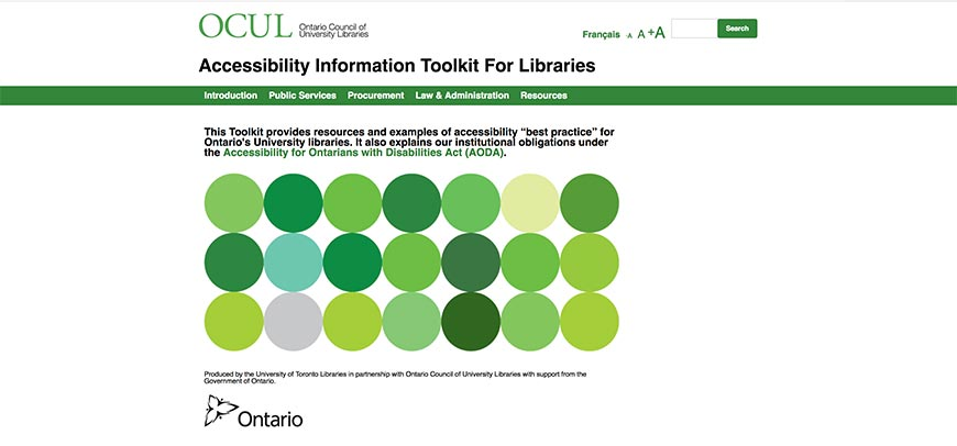 23 Accessibility Information Toolkit for Libraries