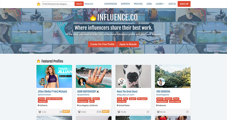 31 influence influencer tools