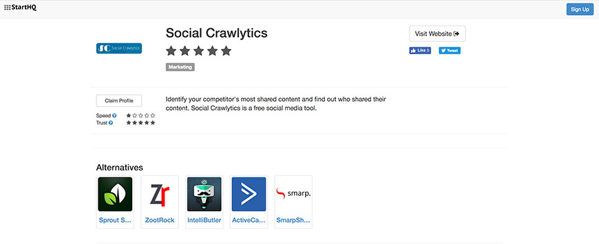 33 social crawlytics influencer tools