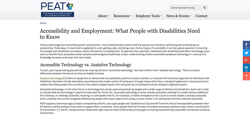 40 Accessibility and Employment