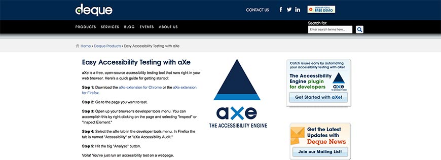 50 Easy Accessibility Testing with aXe
