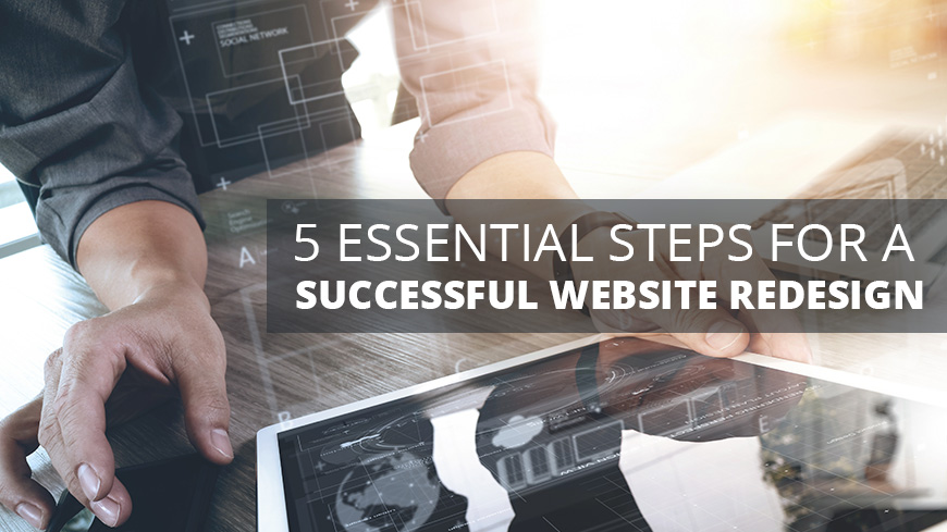 5 steps for successful website design