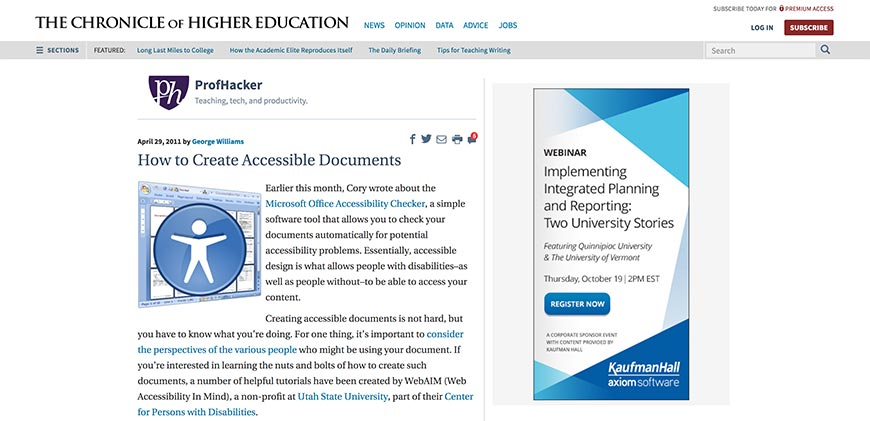 60 how to create accessible digital documents