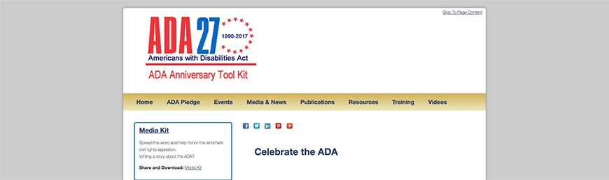 ADA Anniversary Toolkit Accessibility Resources