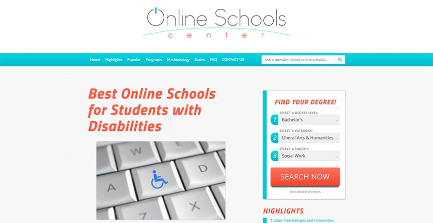 Best Online Schools for Students with Disabilities