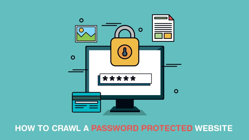 Crawling Private Pages of Password Protected Websites