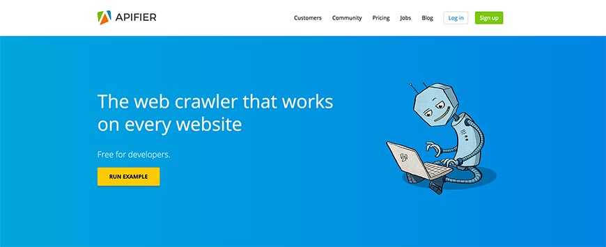 apifier website crawler