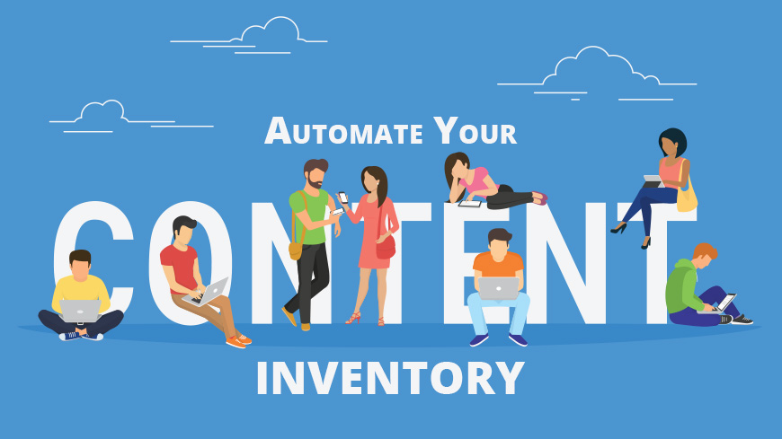 automate content inventory