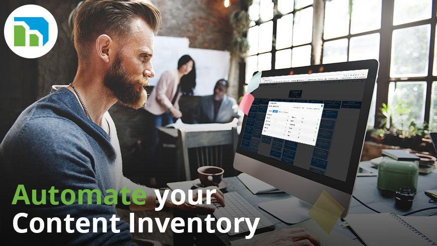automate your content inventory