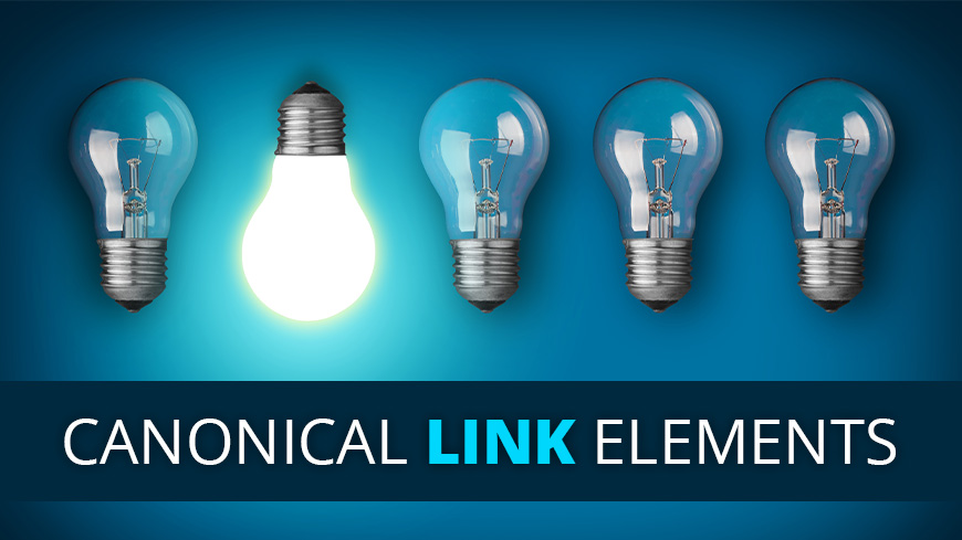 canonical link elements