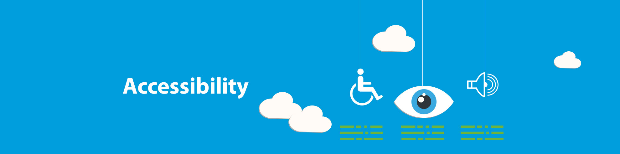 accessibility banner