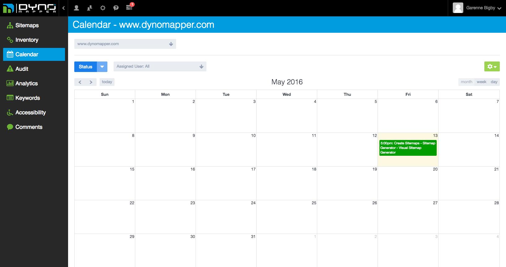 content calendar png