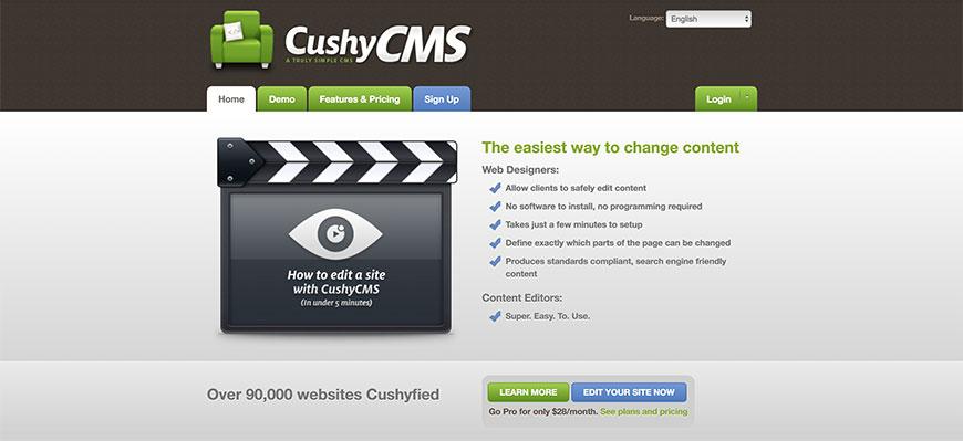 cushycms cms seo