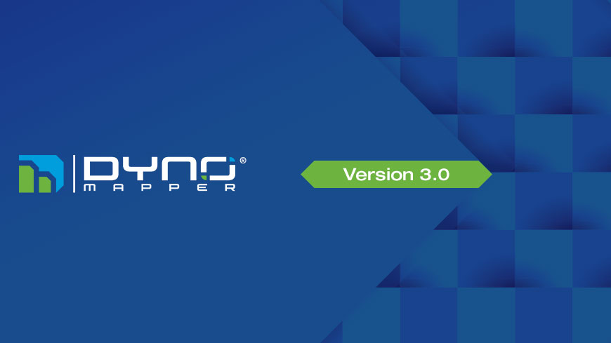 What's new with DYNO Mapper ® v3.0