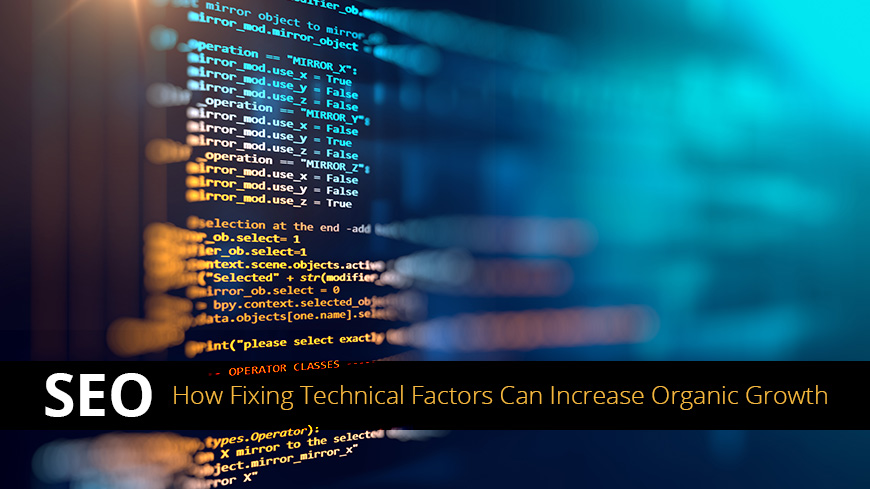fixing technical factors seo
