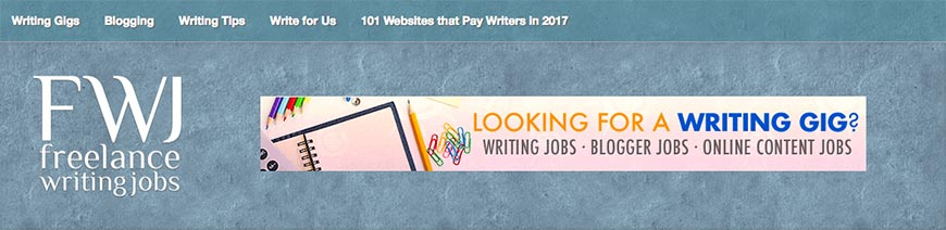 freelancewritinggigs freelance website