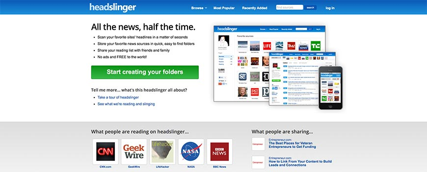 headslinger content curation tools