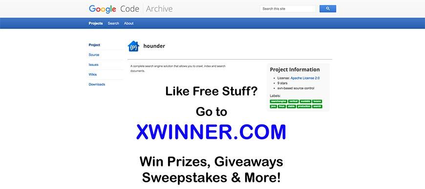 hounder website crawler