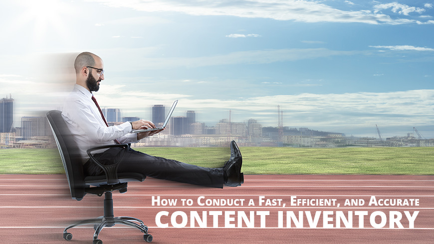 how to conduct content inventory