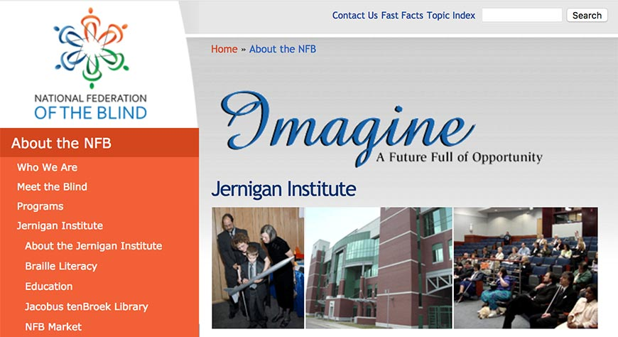 jernigan institute accessibility resources