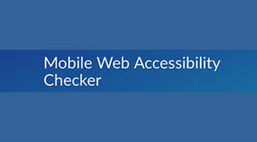 Mobile Web Accessibility Checker