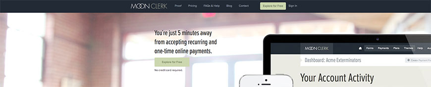 moonclerk recurring payments