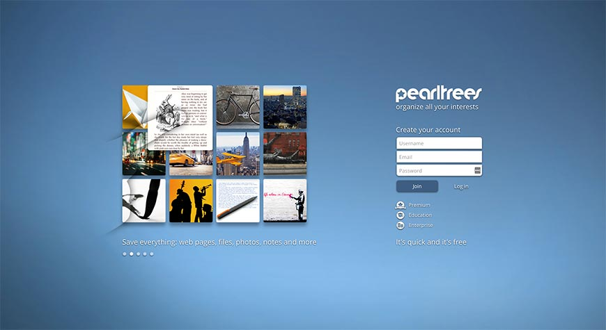 pearltrees content curation tools