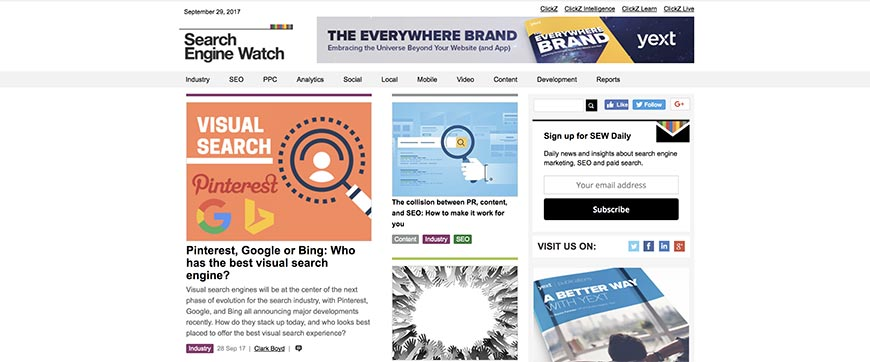 searchenginewatch seo blog