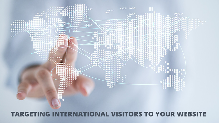 targeting international visitors