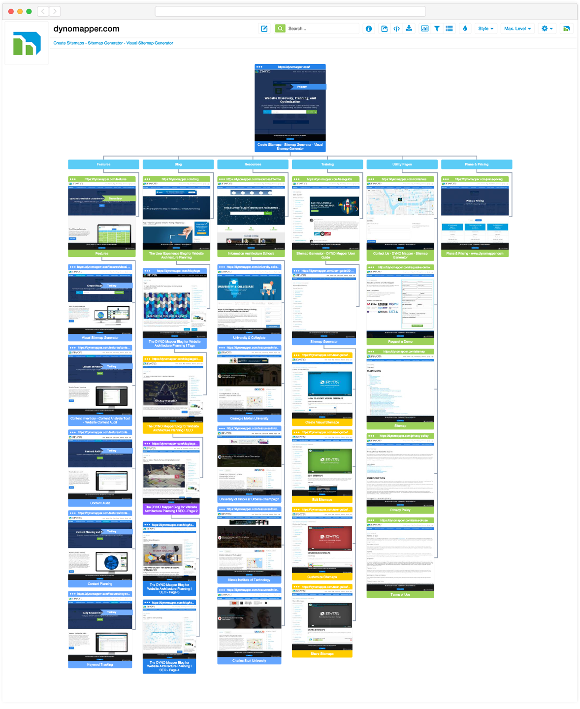 Site Map Format: Visual Sitemap Generator
