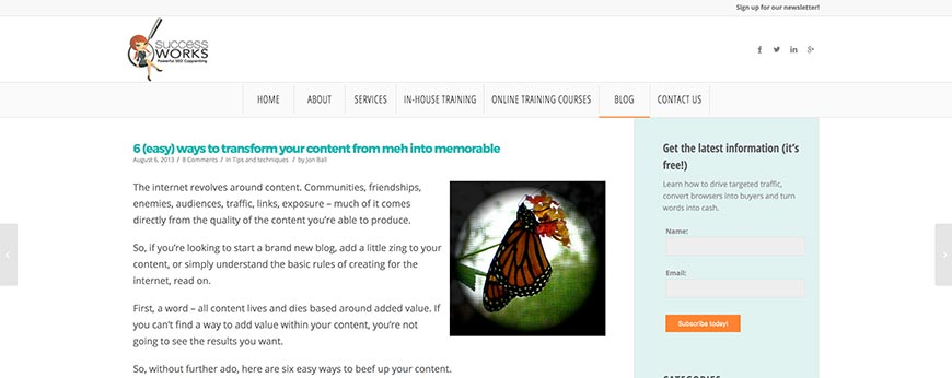 transform your content from meh into memorable