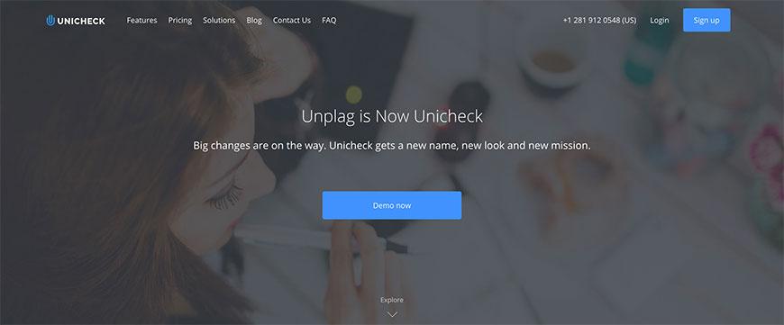 unicheck抄袭工具