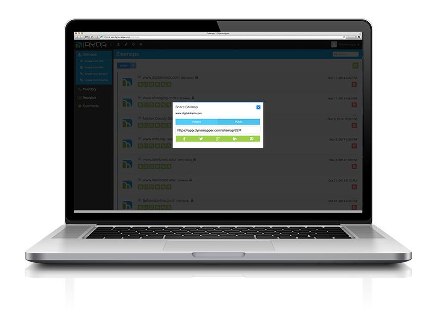 A Premium Visual Sitemap Generator