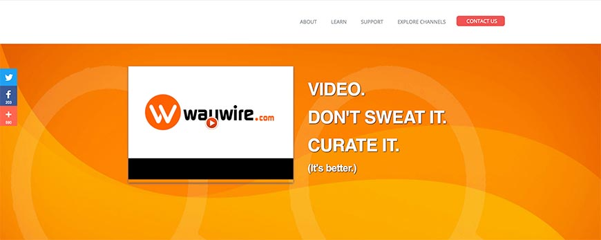 waywire content curation tools