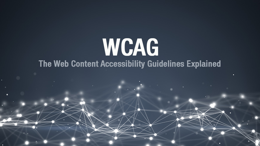 wcag web content accessibility guideline
